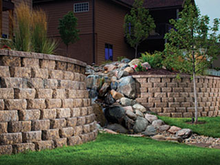 retaining walls - Retaining Wall Blocks Design