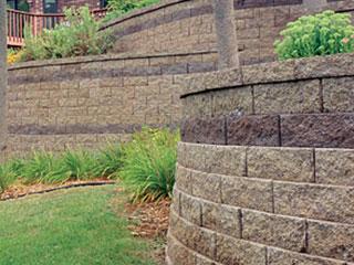 Retaining Wall Block Oval Blocks Are